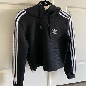Rare Adidas striped sweatshirt hoodie